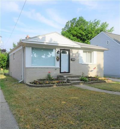 Dearborn Single Family Home For Sale: 4976 Cornell St