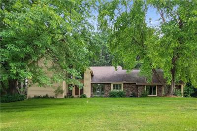 Single Family Home For Sale: 6663 Quaint Ridge Trl