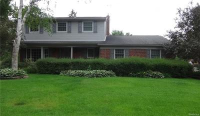 Shelby Twp Single Family Home For Sale: 5962 Cotswold Crt