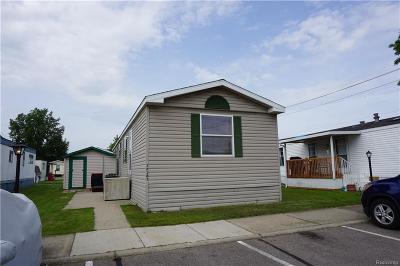 Macomb MI Single Family Home For Sale: $54,900