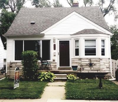 Lincoln Park Single Family Home For Sale: 2170 Keppen Blvd