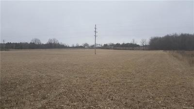 Lapeer Residential Lots & Land For Sale: Willits Rd