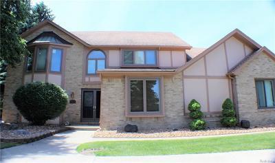 Farmington Hills Single Family Home For Sale: 31073 Evergreen Crt
