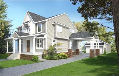 Northville Single Family Home For Sale: 711 Center
