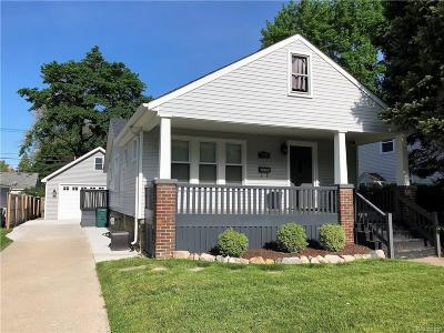 Berkley Single Family Home For Sale: 3059 Griffith Ave