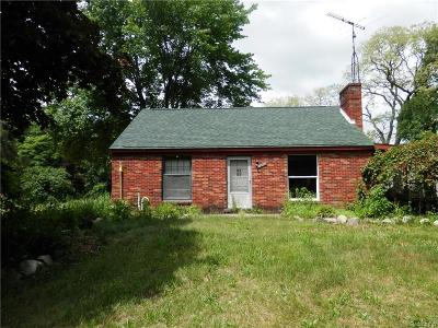 St. Clair Single Family Home For Sale: 7510 Sparling Rd