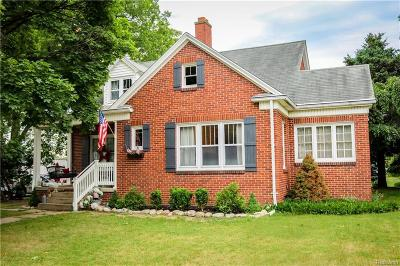 Romeo, Richmond Single Family Home For Sale: 163 W Saint Clair St