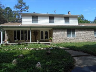 Lapeer Single Family Home For Sale: 4320 Lanney Ln