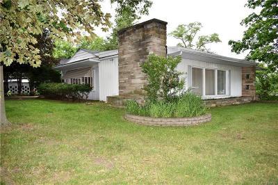 Farmington Hills Single Family Home For Sale: 35960 W Nine Mile Rd