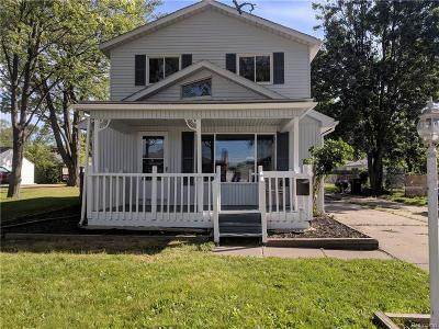Saint Clair Shores Single Family Home For Sale: 23501 Playview St