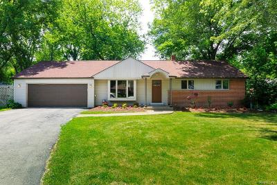 Macomb Single Family Home For Sale: 21056 Balfour St