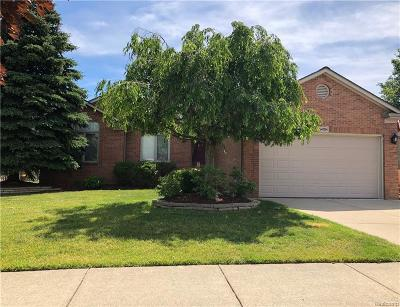 Macomb Twp Single Family Home For Sale: 54784 Chickasaw