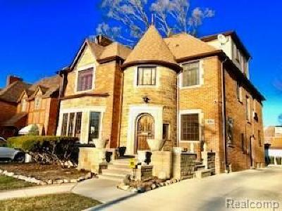 Detroit Single Family Home For Sale: 18064 Birchcrest Dr