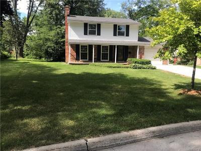 Southfield Single Family Home For Sale: 29527 Rock Creek Dr