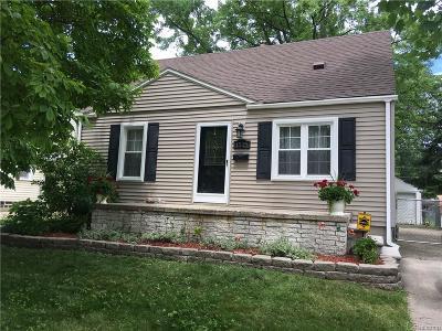 Royal Oak Single Family Home For Sale: 1525 Donald Ave