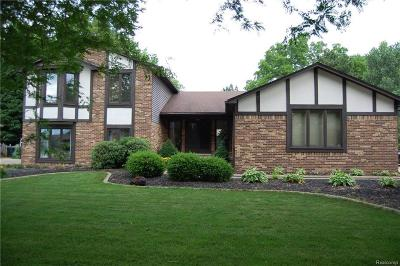 Shelby Twp Single Family Home For Sale: 46714 Houghton Dr