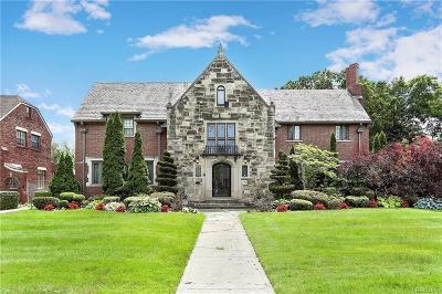 Detroit Single Family Home For Sale: 725 W Boston Blvd