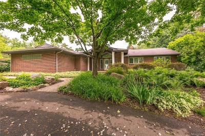 Franklin Single Family Home For Sale: 30894 Hickory Ln