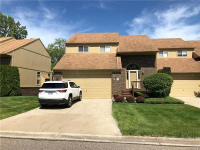 Rochester Hills Condo/Townhouse For Sale: 2069 Rochelle Park Dr