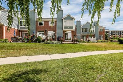 Detroit Condo/Townhouse For Sale: 211 Windward Crt