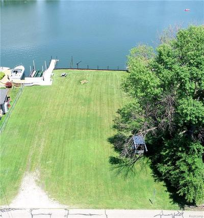 Harrison Twp Residential Lots & Land For Sale: 38187 Huron Pointe