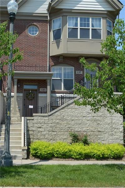 Detroit Condo/Townhouse For Sale: 135 Winder St