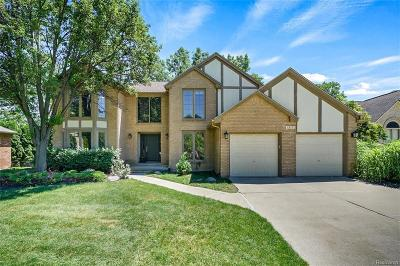 Rochester Hills Single Family Home For Sale: 1212 Olympia Dr