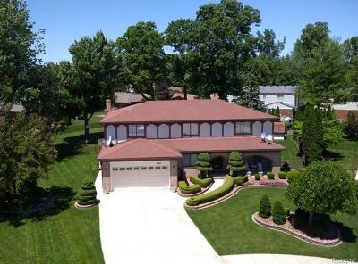 Sterling Heights Single Family Home For Sale: 14221 Brookings Dr
