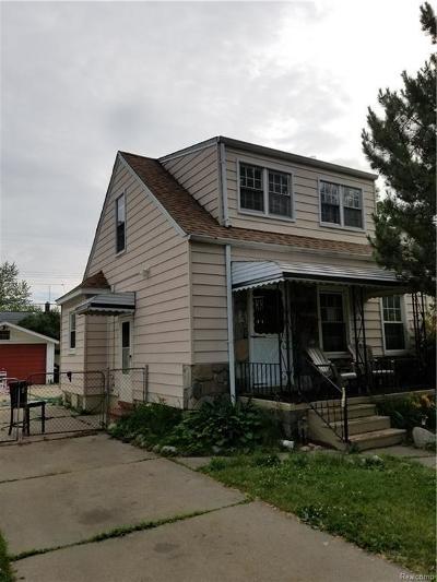 Harper Woods Single Family Home For Sale: 19976 Elkhart St