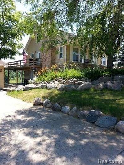 Lapeer Single Family Home For Sale: 4373 Lippincott Rd