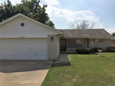 Warren Single Family Home For Sale: 27203 Bunert Rd