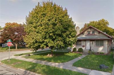 Royal Oak Single Family Home For Sale: 503 Baldwin Ave