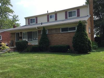 Clawson Single Family Home For Sale: 1284 N Selfridge Blvd