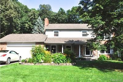 Lake Orion Single Family Home For Sale: 960 Wildbrook Ln