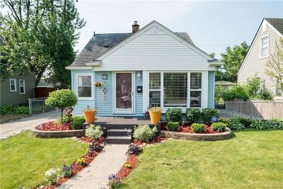 Ferndale Single Family Home For Sale: 1347 W Marshall St