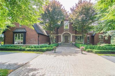 Clarkston Single Family Home For Sale: 7635 Fen Rdg