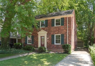Grosse Pointe Single Family Home For Sale: 870 Lincoln Rd