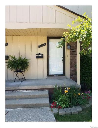 Fraser Condo/Townhouse For Sale: 34117 Garfield