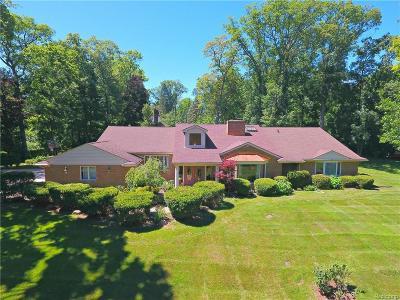 Farmington Hills Single Family Home For Sale: 27726 Wellington St