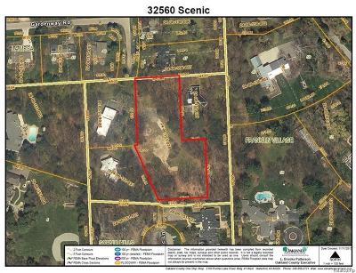 Franklin Residential Lots & Land For Sale: 32560 Scenic Ln