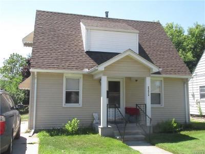 Hazel Park Single Family Home For Sale: 23075 Tawas