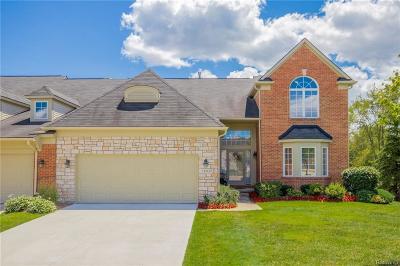 Farmington Hills Condo/Townhouse For Sale: 37127 Southwind Crt