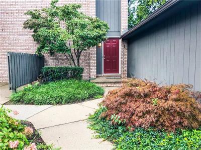 Bloomfield Hills Condo/Townhouse For Sale: 41350 Woodward Ave