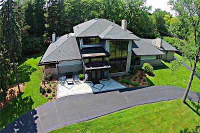 Bloomfield Hills Single Family Home For Sale: 7106 Old Mill Rd