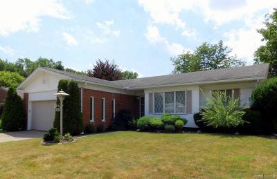 Allen Park Single Family Home For Sale: 18985 Bondie Dr