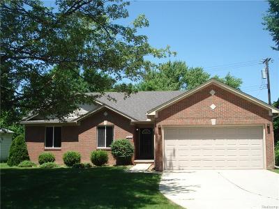 Troy Single Family Home For Sale: 2597 E Big Beaver Rd