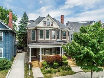 Detroit Multi Family Home For Sale: 662 Van Dyke St