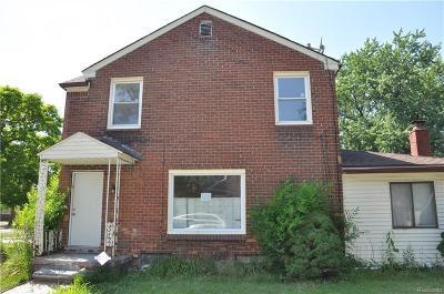 Detroit Single Family Home For Sale: 8800 Marseilles St
