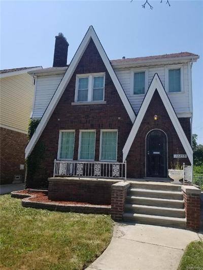 Detroit Single Family Home For Sale: 16255 Muirland