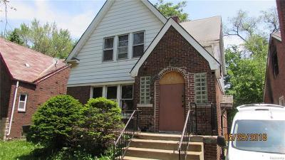 Detroit Multi Family Home For Sale: 8248 Roselawn St